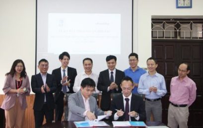 VNU-UET's FIT signs the Collaboration Agreement with Identity, Japan