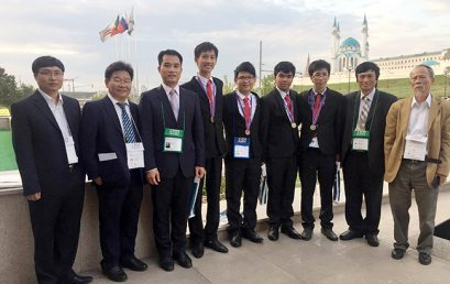 Vietnam's International Olympiad in Informatics Selection Team 2016 won 02 Gold medals