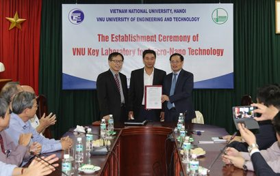 The Opening Ceremony of VNU Key Laboratory for Micro-Nano Technology