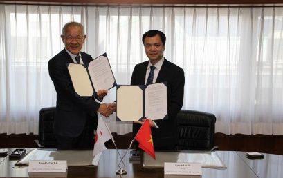 VNU-UET signed a general agreement with UEC Tokyo, Japan
